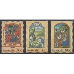Australie - 1989 - No 1135/1137 - Noël