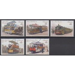 Australie - 1989 - No 1130/1134 - Transports