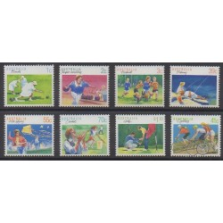 Australia - 1989 - Nb 1106A/1106G - 1126 - Various sports