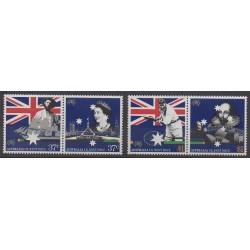 Australie - 1988 - No 1085/1088 - Histoire