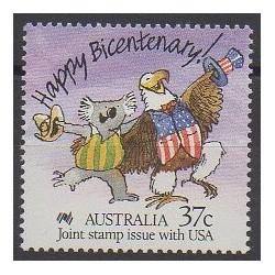 Australie - 1988 - No 1050 - Histoire