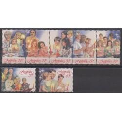 Australia - 1987 - Nb 1033/1039 - Christmas