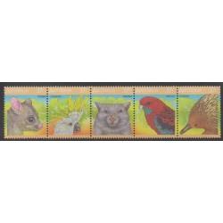 Australia - 1987 - Nb 1012/1016 - Animals