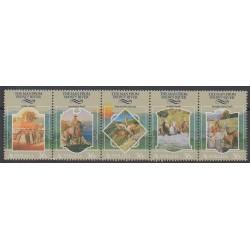 Australia - 1987 - Nb 1007/1011 - Folklore