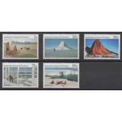 Australie - territoire antarctique - 1984 - No 63/67 - Polaire