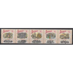 Australia - 1990 - Nb 1176/1180 - Various Historics Themes