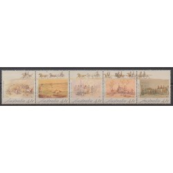 Australia - 1990 - Nb 1168/1172 - Various Historics Themes