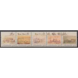 Australie - 1990 - No 1168/1172 - Histoire