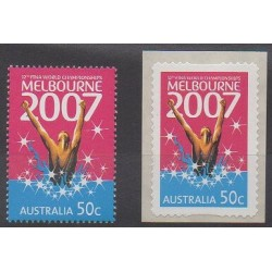 Australie - 2007 - No 2664/2664A - Sports divers