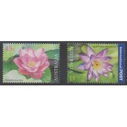 Australie - 2002 - No 2045/2046 - Fleurs