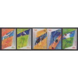 Australie - 2000 - No 1836/1840 - Jeux Olympiques d'été