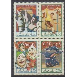 Australie - 1997 - No 1577/1580 - Cirque