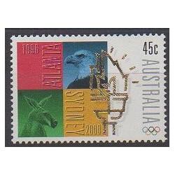 Australie - 1996 - No 1539 - Jeux Olympiques d'été