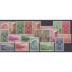 Monaco - 1939 - Nb 169/183 - Monuments