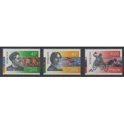 Australie - 1996 - No 1534/1536 - Jeux Olympiques d'été