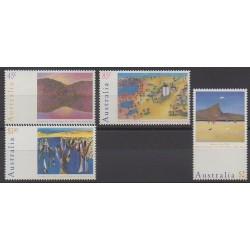 Australie - 1994 - No 1339/1342 - Peinture