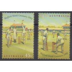 Australia - 1992 - Nb 1282/1283 - Various sports