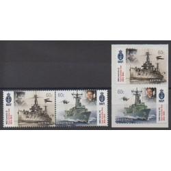 Australie - 2011 - No 3450/3453 - Navigation - Histoire militaire
