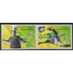 Australie - 2006 - No 2549/2550 - Coupe du monde de football