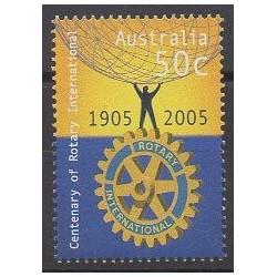 Australie - 2005 - No 2334 - Rotary ou Lions club