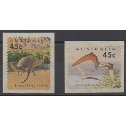 Australia - 1993 - Nb 1334/1335 - Prehistoric animals