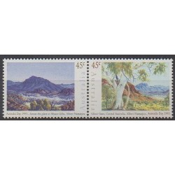 Australia - 1993 - Nb 1287/1288 - Paintings