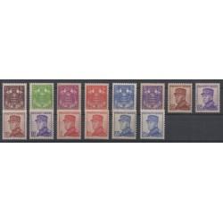 Monaco - 1937 - No 154/166
