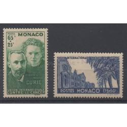 Monaco - 1938 - No 167/168 - Santé ou croix-rouge