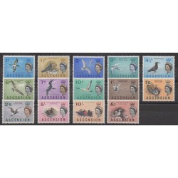 Ascension Island - 1963 - Nb 76/89 - Mint hinged