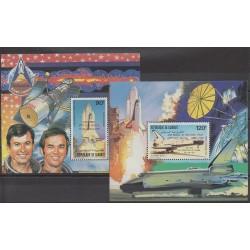 Djibouti - 1981 - No BFPA157/BFPA158 - Espace