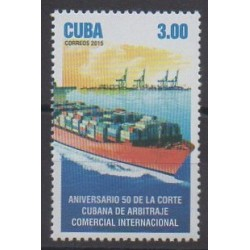 Cuba - 2015 - Nb 5428 - Boats