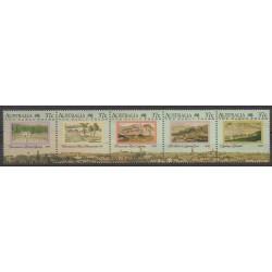Australie - 1988 - No 1077/1081 - Histoire