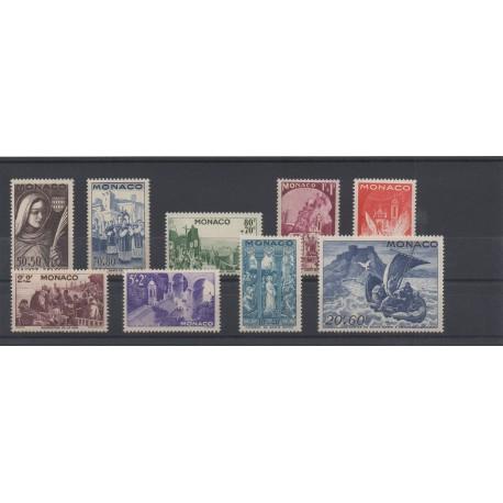 Monaco - année complète - 1944 - No 265/273