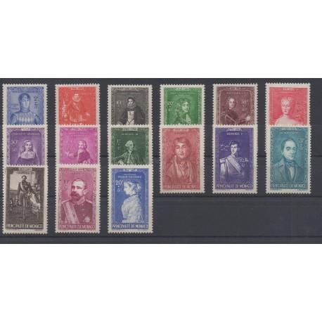 Monaco - année complète - 1942 - No 234/248