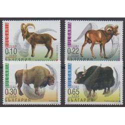 Bulgarie - 2000 - No 3881/3884 - Mammifères