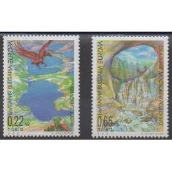 Bulgarie - 2001 - No 3898/3899 - Europa - Environnement