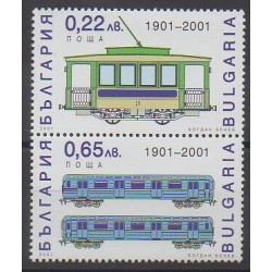 Bulgaria - 2001 - Nb 3900/3901 - Trains
