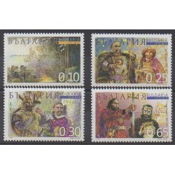 Bulgaria - 2001 - Nb 3920/3923 - Various Historics Themes