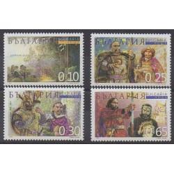 Bulgarie - 2001 - No 3920/3923 - Histoire