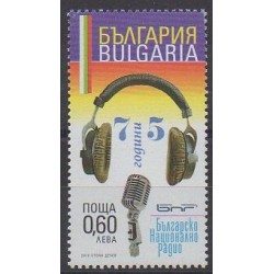 Bulgarie - 2010 - No 4243 - Musique