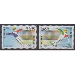 Bulgarie - 2002 - No 3926/3927 - Jeux olympiques d'hiver