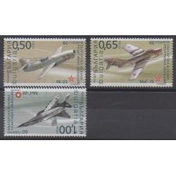 Bulgarie - 2010 - No 4265/4267 - Aviation - Histoire militaire - Philatélie