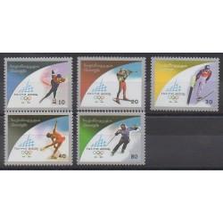 Géorgie - 2005 - No 388/392 - Jeux olympiques d'hiver