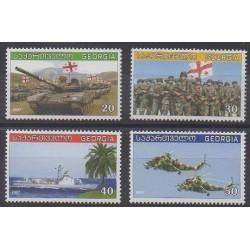 Géorgie - 2007 - No 428/431 - Histoire militaire