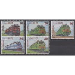 Géorgie - 1998 - No 222P/222T - Chemins de fer