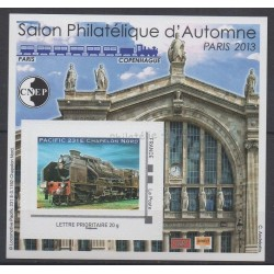 France - Feuillets CNEP - 2013 - No CNEP 64 - Trains