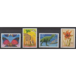 France - Poste - 2000 - No 3332/3335 - Animaux