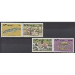 Saint-Vincent - 1986 - No 979/982 - Artisanat ou métiers
