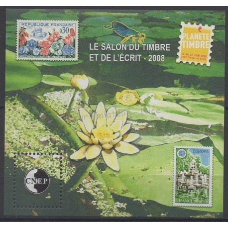 France - Feuillets CNEP - 2008 - No CNEP 51 - Timbres sur timbres