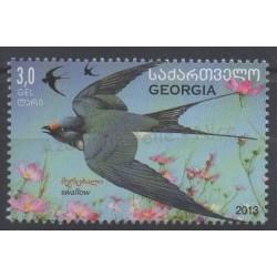 Géorgie - 2013 - No 499 - Oiseaux